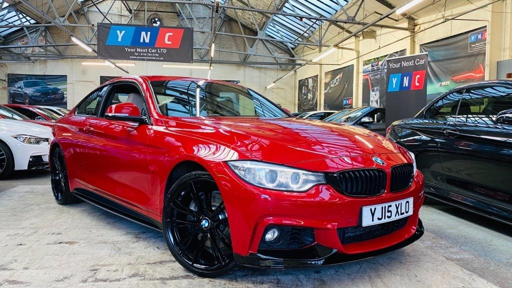 USED 2015 15 BMW 4 SERIES 3.0 435d M Sport Auto xDrive 2dr PERFORMANCEKIT+20S+XENONS