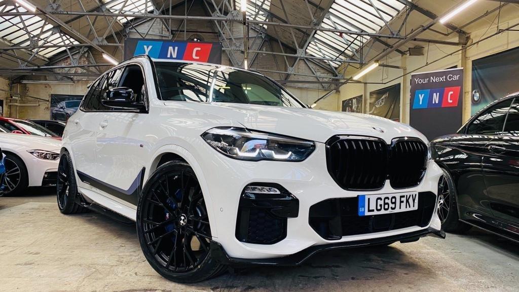 USED 2019 69 BMW X5 3.0 30d M Sport Auto xDrive (s/s) 5dr PERFORMANCEKIT+22S+REVCAM!