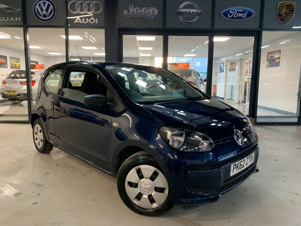 USED 2012 62 VOLKSWAGEN UP 1.0 Take up! 3dr Complementary 12 Months RAC Warranty and 12 Months RAC Breakdown Cover Also Receive a Full MOT With All Advisory Work Completed, Fresh Engine Service and RAC Multipoint Check Before Collection/Delivery
