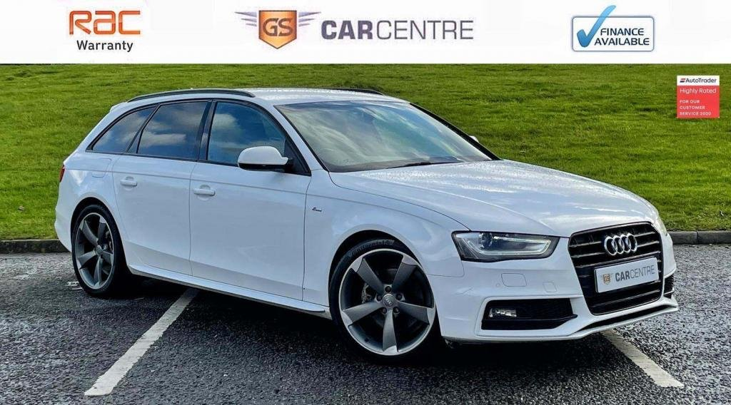 USED 2014 14 AUDI A4 AVANT 2.0 TDI Black Edition Avant 5dr Sat Nav | Half Leather | BOSE