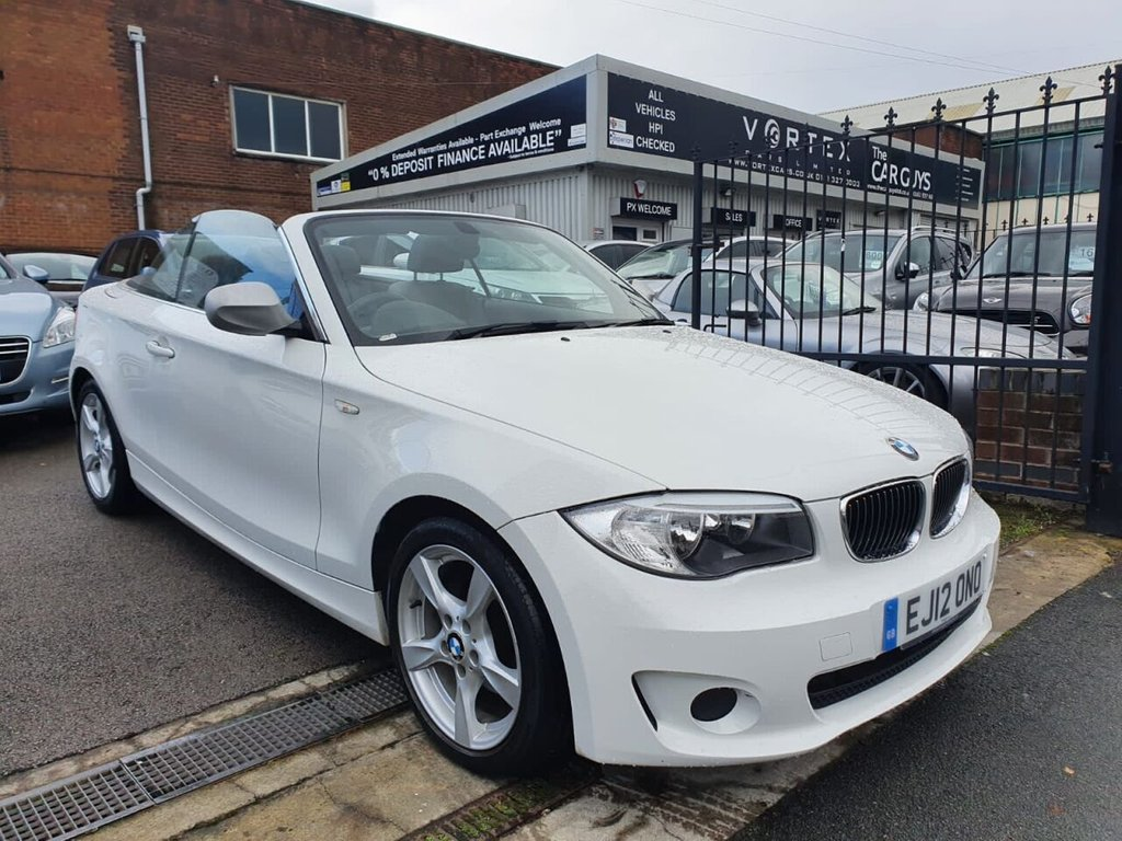 USED 2012 12 BMW 1 SERIES 2.0 118I EXCLUSIVE EDITION 2d 141 BHP 12 MONTH MOT + SERVICE HISTORY