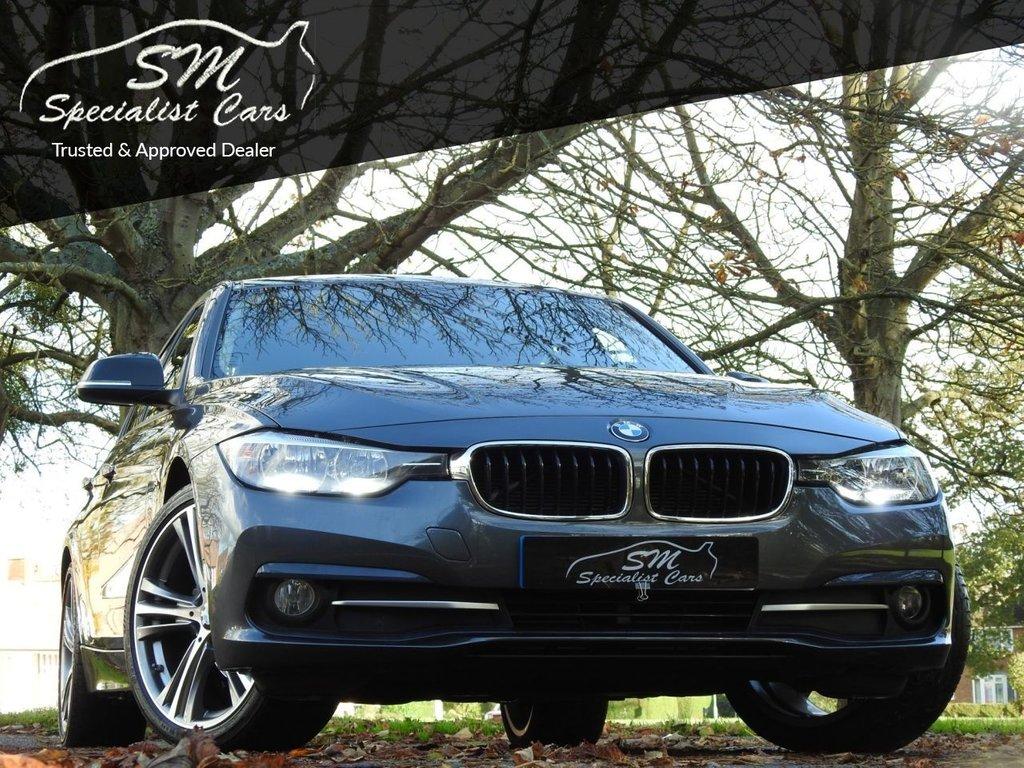 USED 2016 66 BMW 3 SERIES 2.0 320D ED SPORT 4d 161 BHP 1 OWNER SAT NAV A/C 16K VAT Q