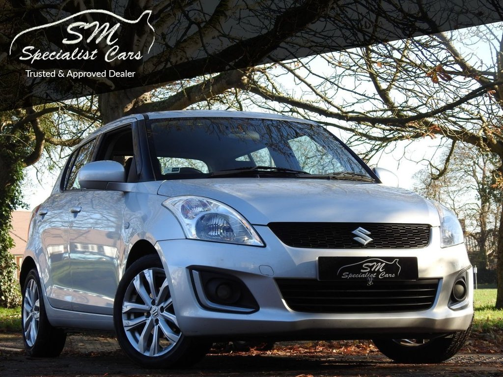 USED 2014 14 SUZUKI SWIFT 1.2 SZ3 5d 94 BHP LOW MILEAGE SZ3 A/C VGC