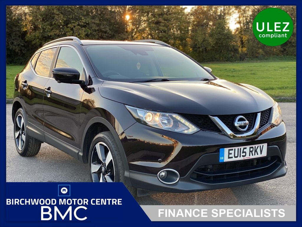 USED 2015 15 NISSAN QASHQAI 1.2 N-TEC PLUS DIG-T 5d 113 BHP, Ulez Compliant, JUST 32,000miles, FSH, IMMACULATE THROUGHOUT