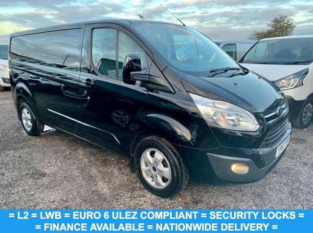 USED 2017 67 FORD TRANSIT CUSTOM 2.0 290 LIMITED LR P/V 129 BHP EURO 6 LONG WHEEL BASE / L2 / TOP OF THE RANGE LTD MODEL