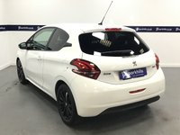 USED 2017 67 PEUGEOT 208 1.2 PURETECH BLACK EDITION 3d 80 BHP (FULL HISTORY - SPECIAL EDITION)