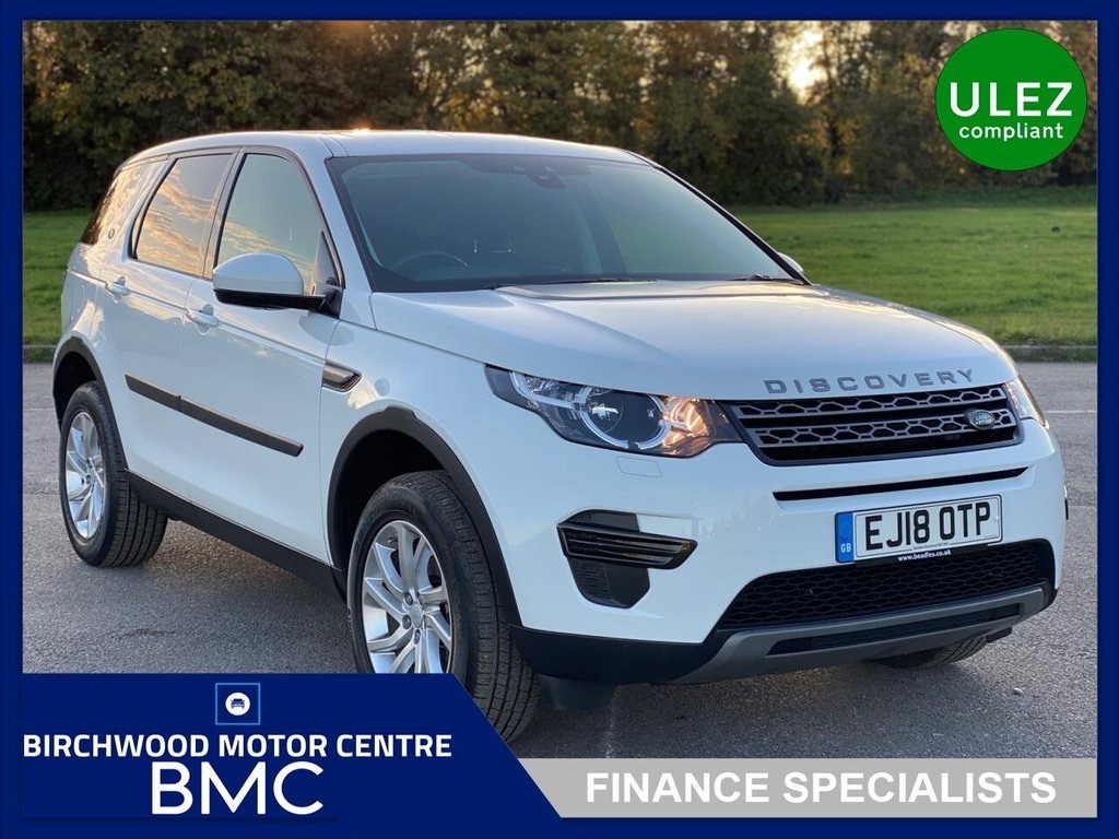 USED 2018 18 LAND ROVER DISCOVERY SPORT 2.0 TD4 SE 5d 180 BHP, Ulez Compliant, 1 OWNER+JUST 18,000m FROM NEW, FSH, 7 SEATER, AUTOMATIC With Paddle Shift, LEATHER TRIM, HEATED SEATS, CRUISE CONTROL, BLUETOOTH, IMMACULATE THROUGHOUT