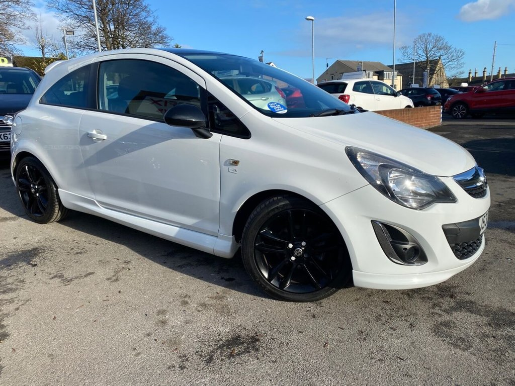 USED 2014 J VAUXHALL CORSA 1.2 LIMITED EDITION 3d 83 BHP