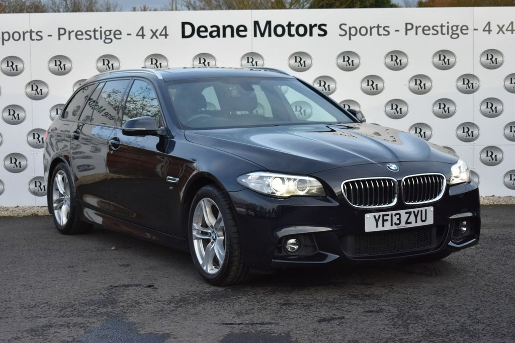 USED 2013 13 BMW 5 SERIES 2.0 520D M SPORT TOURING 5d 181 BHP PANORAMIC SUNROOF