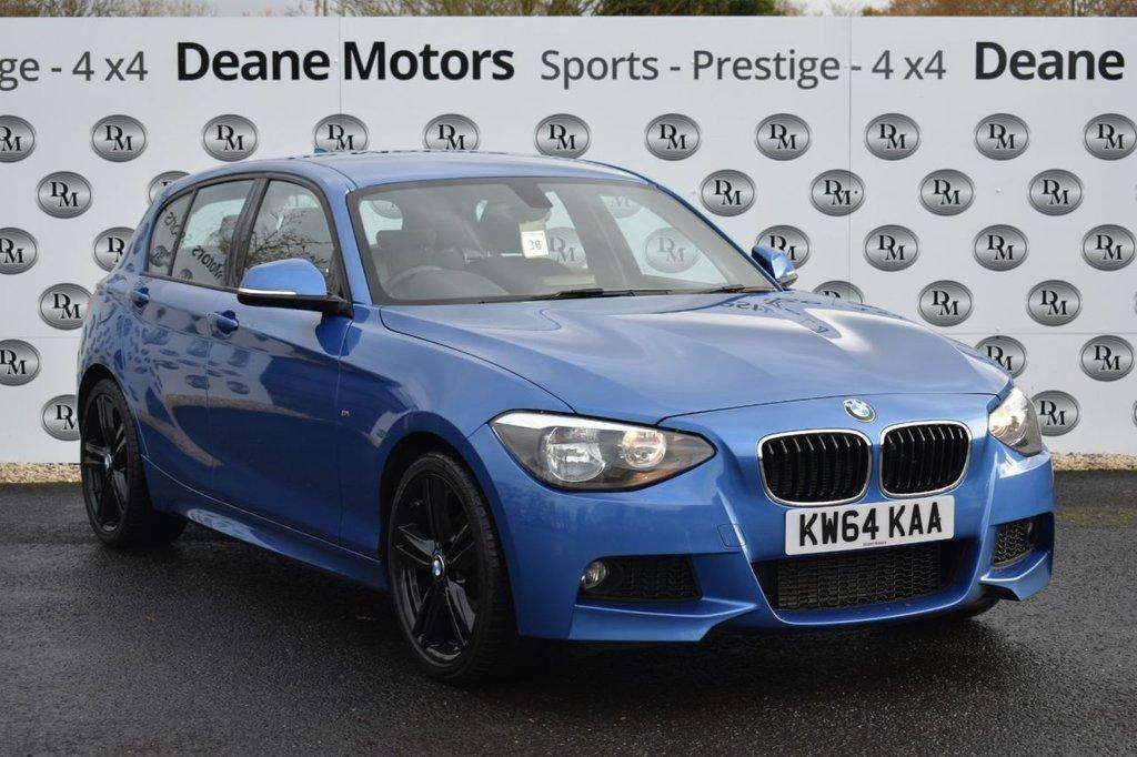 USED 2015 64 BMW 1 SERIES 2.0 120D M SPORT 5d 181 BHP