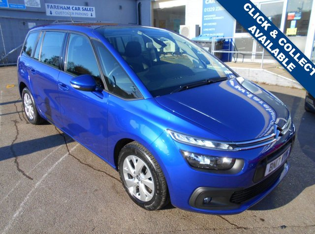 USED 2017 17 CITROEN C4 GRAND PICASSO 1.6 BLUEHDI TOUCH EDITION S/S 5d 118 BHP CLICK + COLLECT THIS VEHICLE