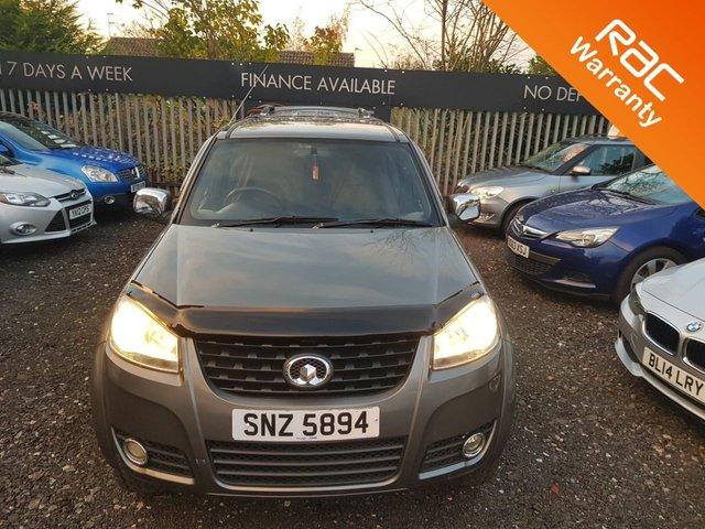 USED 2013 GREAT WALL STEED 2.0 TD SE 4X4 DCB 4d 141 BHP