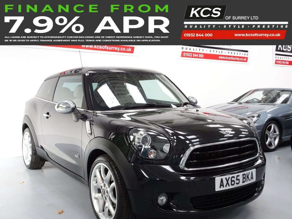USED 2015 65 MINI MINI PACEMAN 1.6 COOPER D ALL4 3d 112 BHP ALL 4 - SAT NAV - HTD LEATHER