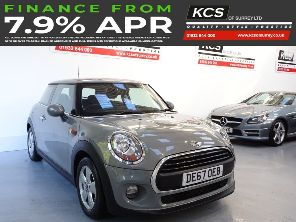 USED 2017 67 MINI HATCH ONE 1.2 ONE 3d 101 BHP PEPPER PACK - BLUETOOTH-DAB
