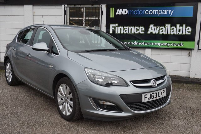 USED 2013 63 VAUXHALL ASTRA 1.7 SE CDTI ECOFLEX S/S 5d 128 BHP 7 Service Stamps, 2 Owners, £0 Road Tax, Half Leather,