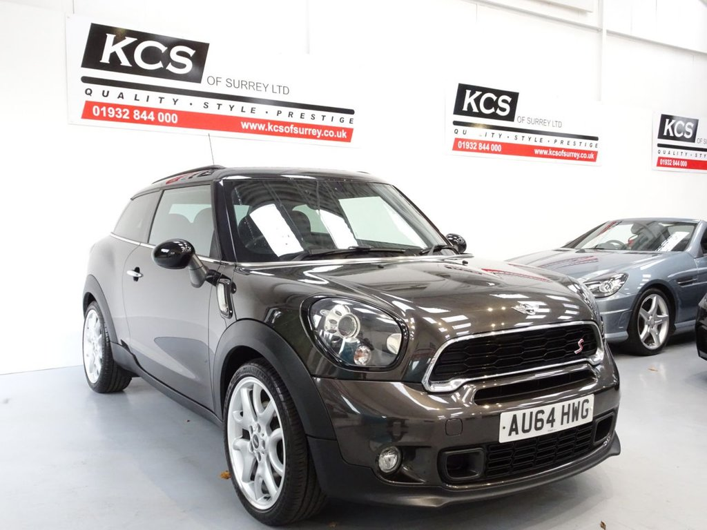 USED 2014 64 MINI MINI PACEMAN 1.6 COOPER S 3d 184 BHP CHILI - SAT NAV - HTD LEATHER