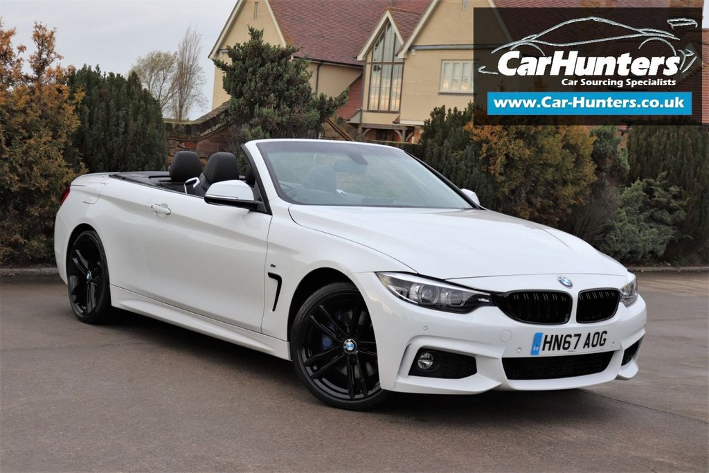 USED 2017 67 BMW 4 SERIES 2.0 420D M SPORT 2d 188 BHP