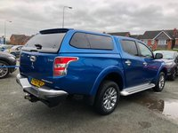 USED 2017 67 MITSUBISHI L200 2.4 DI-D 4WD BARBARIAN 4dr 5 Seat Double Cab Manual Pickup with Rear Canopy Towbar Side Staps Massive High Spec Very Rare Colour Stunning Lifestyle Vehicle with Full Service History. Recent Service plus MOT now Ready to Finance and Drive Away Today Perfect Pick-up