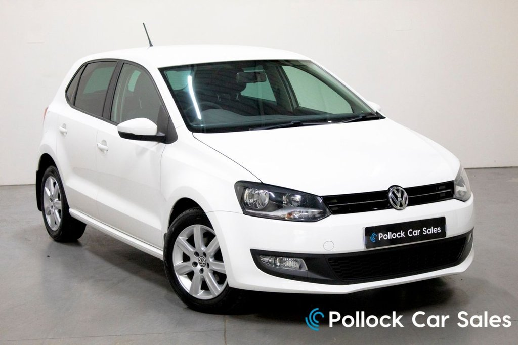 USED 2013 VOLKSWAGEN POLO  MATCH EDITION 5DR 1.2 60BHP Part Sensors, Bluetooth, DAB Radio
