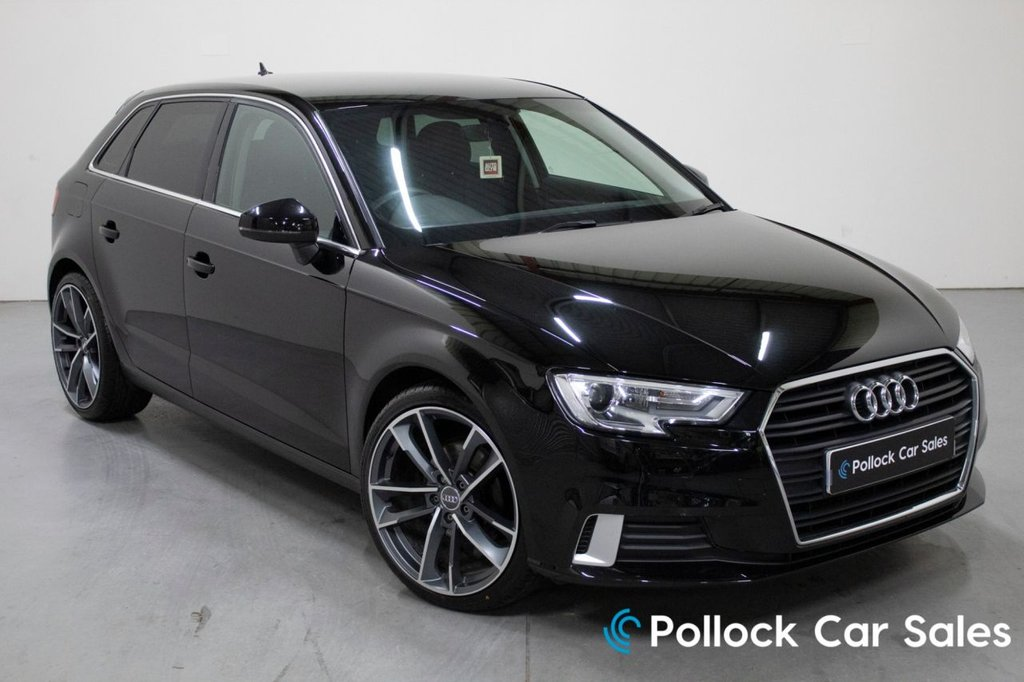 "USED 2017 67 AUDI A3 SPORT 5DR 1.6TDI 115BHP Facelift, Tech Pack, Privacy Glass, 19"" Wheel Option"