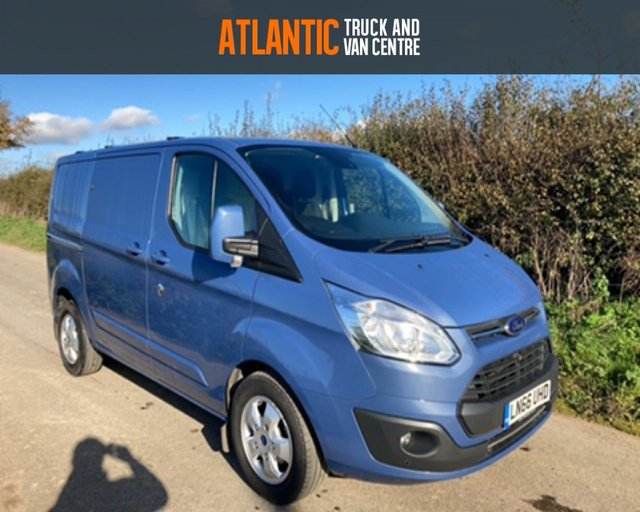 2016 66 FORD TRANSIT CUSTOM 270 LIMITED LR P/V