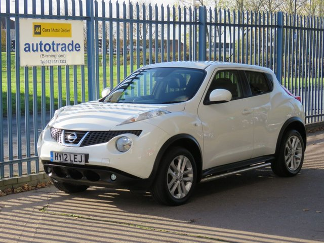 USED 2012 12 NISSAN JUKE 1.5 ACENTA SPORT DCI 5d 110 BHP, Air Con, Privacy Glass, History Climate control, Stereo radio/CD player and MP3 facility, Cruise control + speed limiter, ESP + traction control, Bluetooth system, Service History