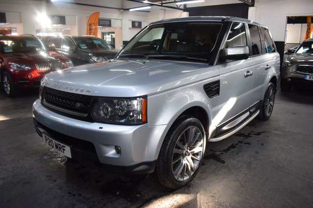 USED 2010 10 LAND ROVER RANGE ROVER SPORT 3.0 TDV6 HSE 5d 245 BHP 2010 FACELIFT - FACTORY REAR ENTERTAINMENT - EXTENDED LEATHER - NAV - TV - SUNROOF - SIDE STEPS - HARMAN KARDON SPEAKERS - PRIVACY GLASS