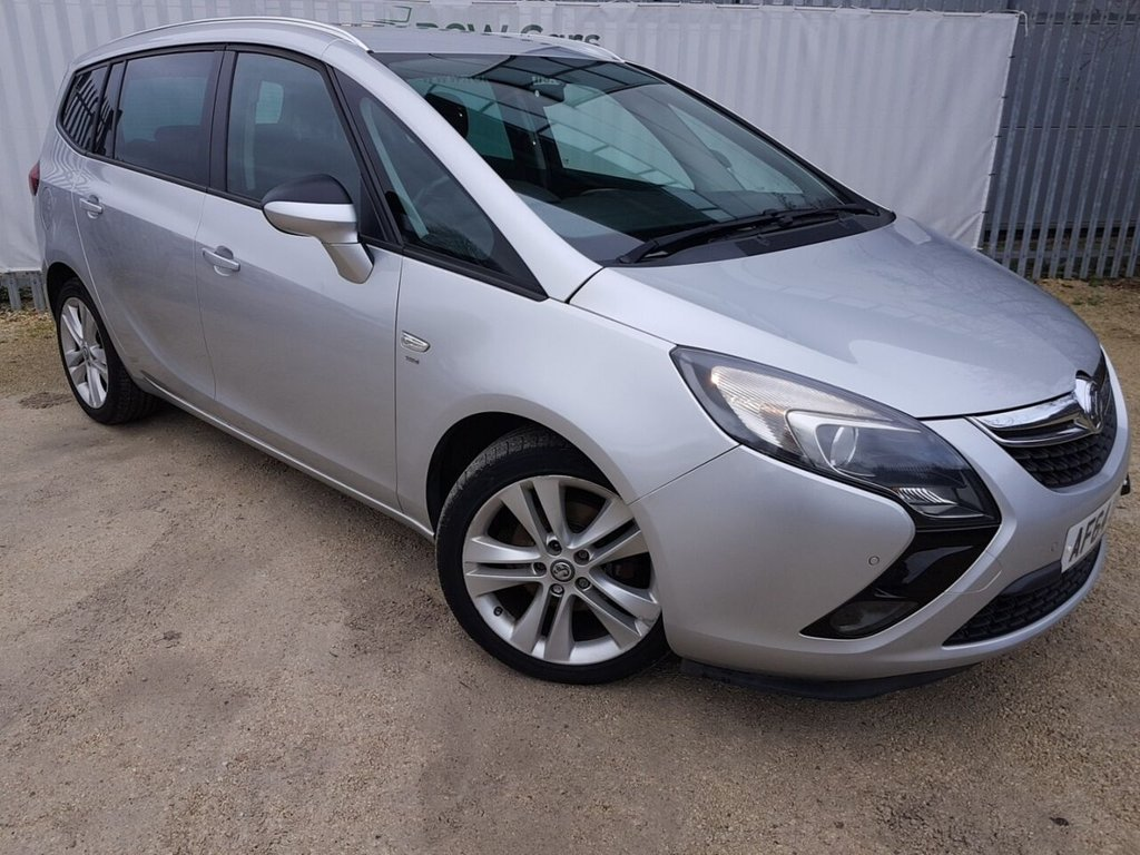 USED 2014 64 VAUXHALL ZAFIRA TOURER 2.0 SRI CDTI 5d 128 BHP **LIVE VIDEO WALK AROUND AVAILABLE**
