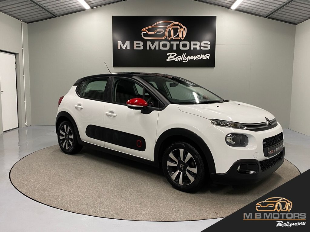 USED 2017 CITROEN C3 FEEL 1.2 PURETECH  5d 81 BHP