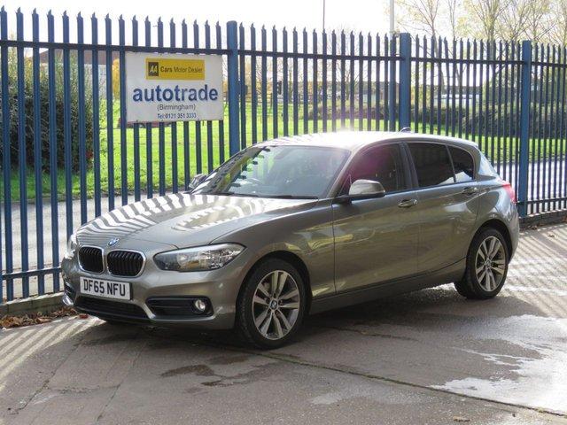 USED 2015 65 BMW 1 SERIES 1.5 118I SPORT 5d 134 BHP Sat Nav, Bluetooth,  Sat-Nav, Service History, Cruise Control, Privacy Glass, Rear Parking Sensors