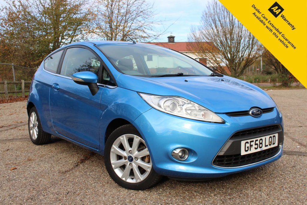 USED 2008 58 FORD FIESTA 1.2 ZETEC 3d 81 BHP ** NATIONWIDE DELIVERY AVAILABLE ** CLICK & COLLECT AVAILABLE **