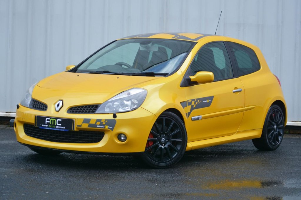 USED 2007 07 RENAULT CLIO 2.0 SPORT VVT F1 TEAM 3d 195 BHP