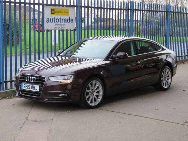 USED 2015 15 AUDI A5 2.0 SPORTBACK TDI SE TECHNIK 5d 134 BHP SAT NAV, HEATED SEATS,  DAB,  HEATED LEATHER SEATS, 1 OWNER, AUDI SERVICE HISTORY, FRONT AND REAR SENSORS, DAB, BLUETOOTH, SAT NAV, ALLOYS, AIR CON.