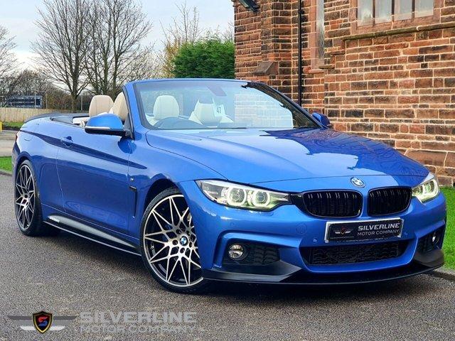 2017 67 BMW 4 SERIES 3.0 430D M SPORT 2d 255 BHP