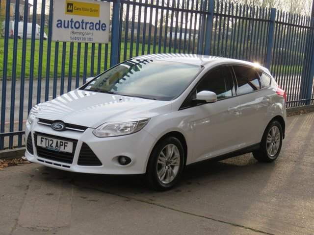 USED 2012 12 FORD FOCUS 1.0 EDGE 5dR 99 Air con Privacy Alloys Fogs