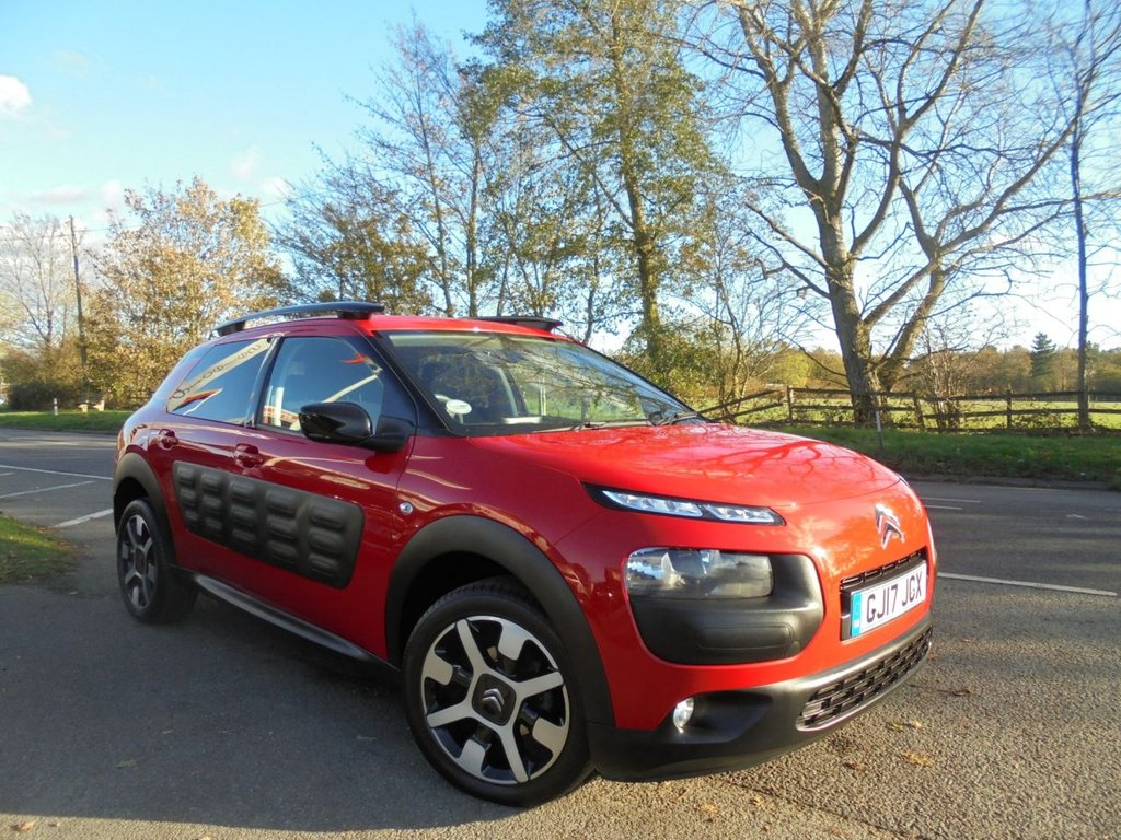 USED 2017 17 CITROEN C4 CACTUS 1.6 BLUEHDI FLAIR 5d 98 BHP