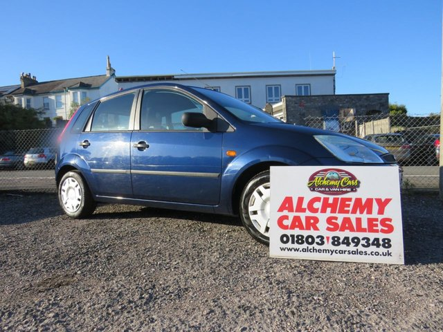 USED 2005 05 FORD FIESTA 1.2 FINESSE 16V 5d 74 BHP