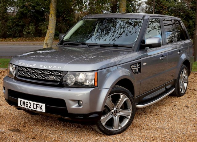 2012 62 LAND ROVER RANGE ROVER SPORT 3.0 SDV6 HSE LUXURY 5d 255 BHP AUTOMATIC