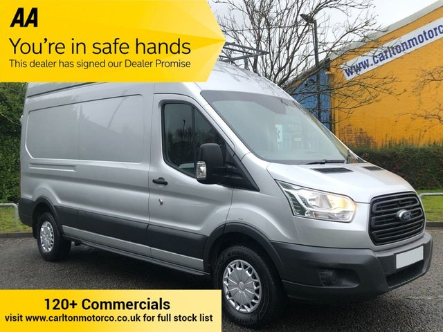 2015 65 FORD TRANSIT 350TDCi 125 L3 H3 LWB HIGH ROOF [ FULL ROOF RACK ] P/V RWD