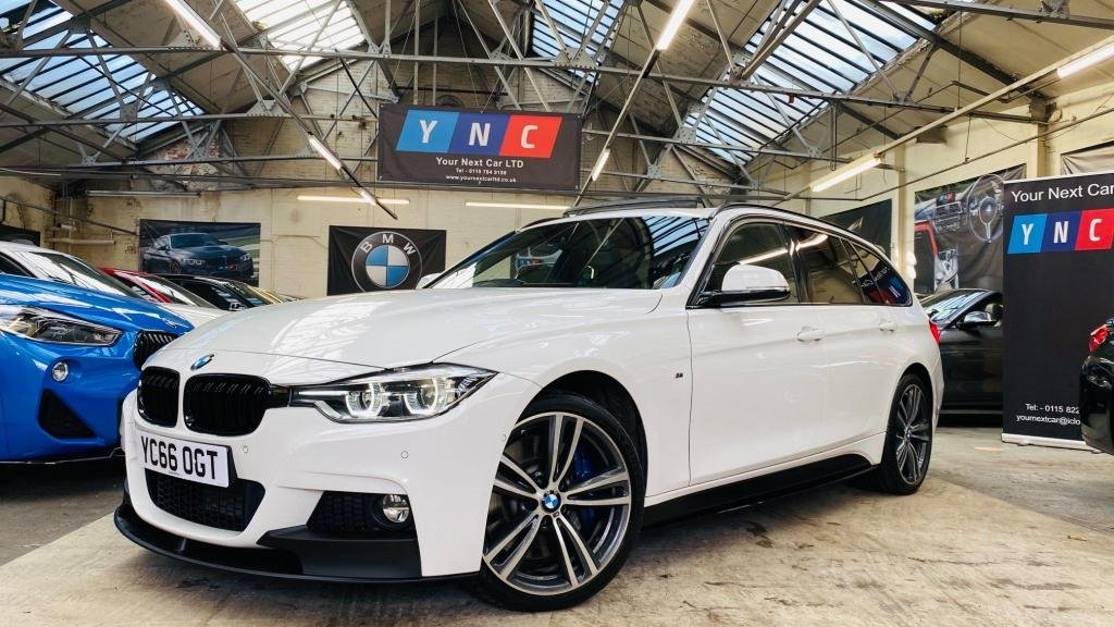 USED 2016 66 BMW 3 SERIES 3.0 335d M Sport Touring Auto xDrive (s/s) 5dr PERFORMANCEKIT+PANROOF+REVCAM