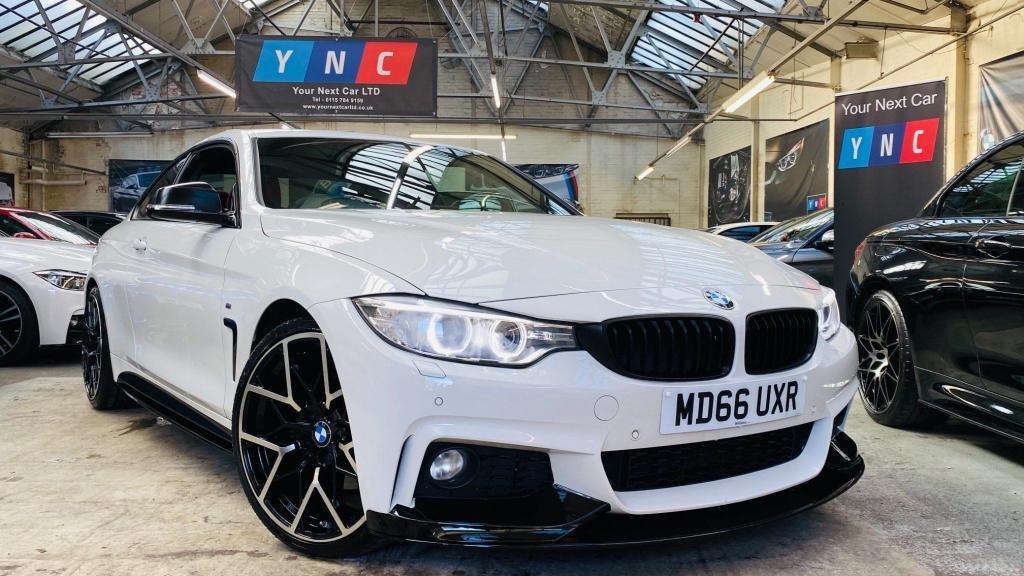 USED 2017 66 BMW 4 SERIES 2.0 430i M Sport Auto 2dr PERFORMANCEKIT+20S+430i!!