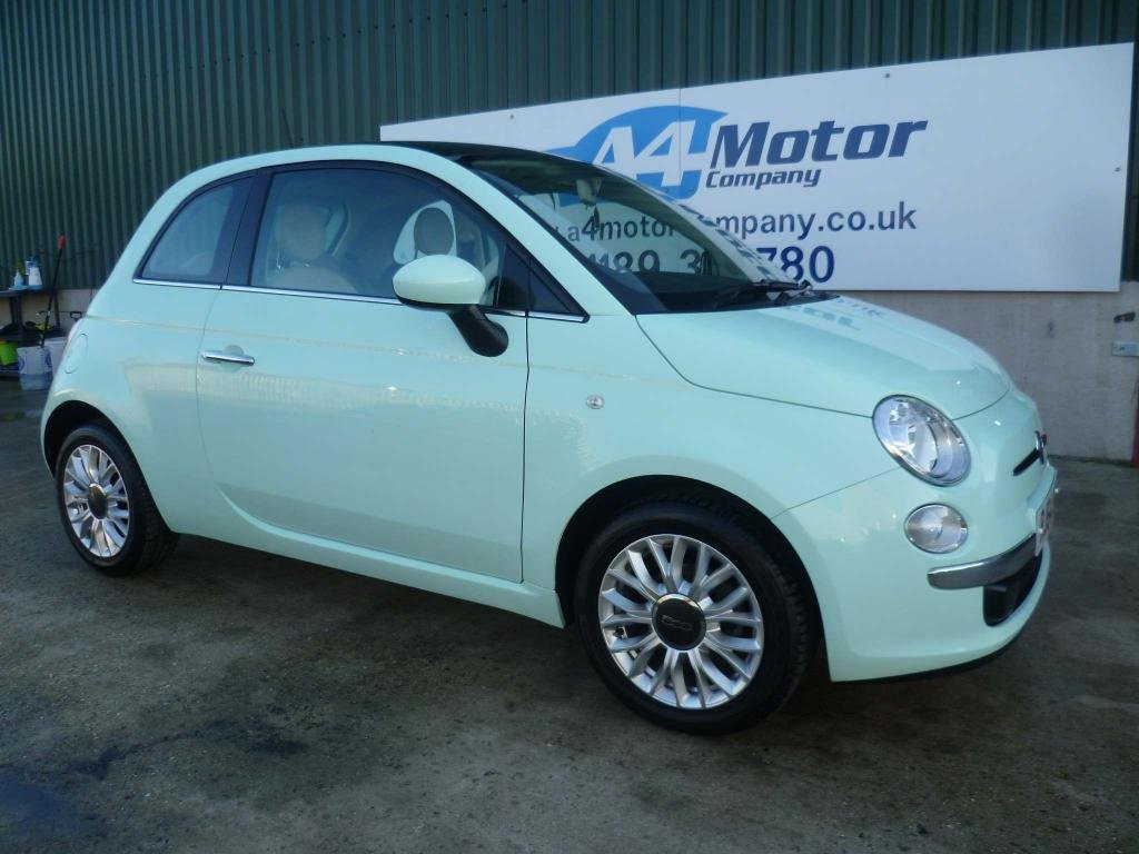 USED 2014 64 FIAT 500 1.2 Lounge Dualogic (s/s) 3dr AUTOMATIC , ONE OWNER ,NEW MOT