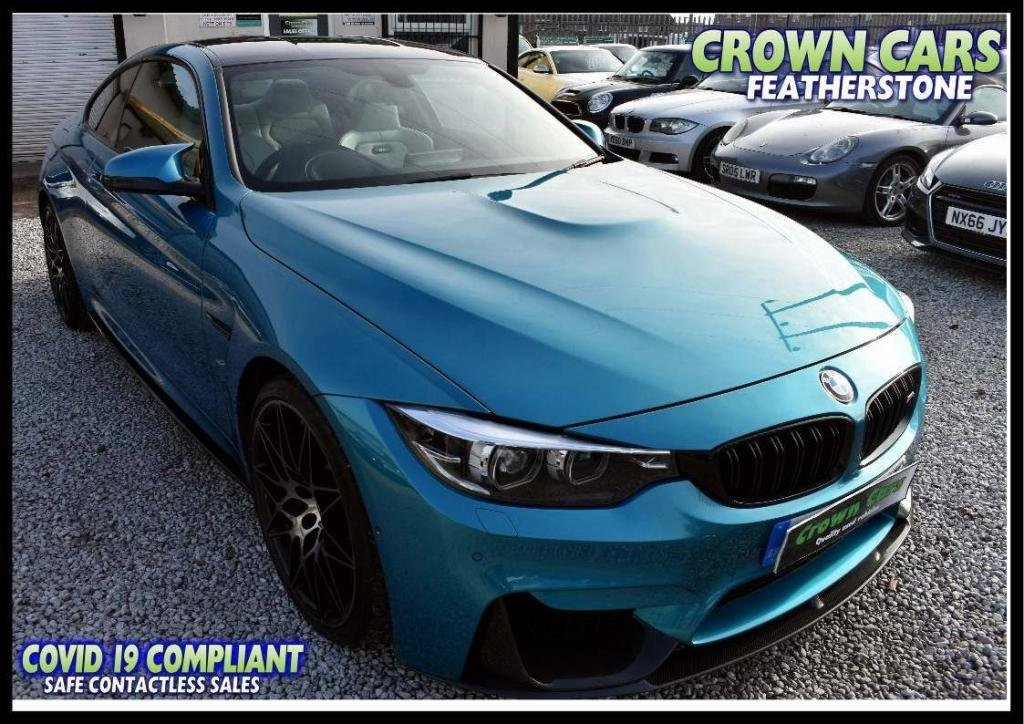 USED 2017 67 BMW M4 3.0 BiTurbo (Competition Pack) DCT (s/s) 2dr FREE FINANCE ELIGIBILITY CHECK
