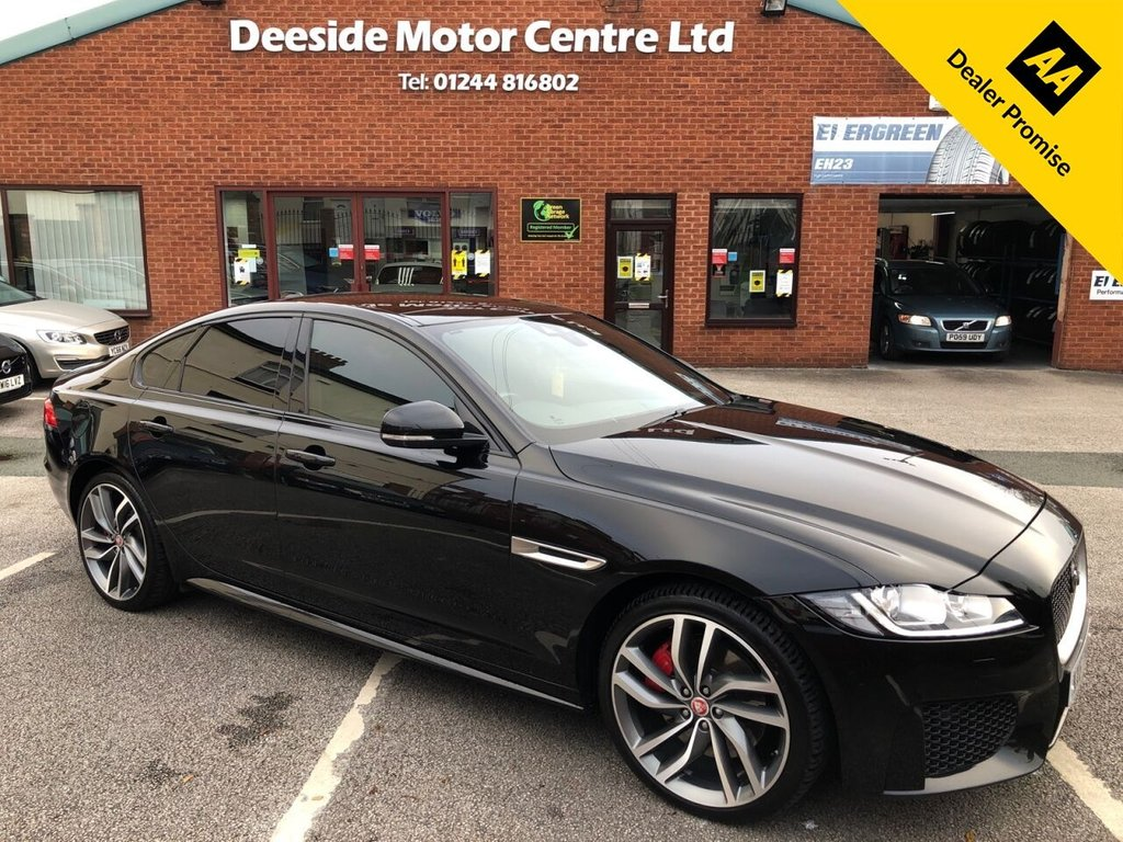 USED 2017 67 JAGUAR XF 3.0 V6 S 4d 296 BHP Beautiful maintained Jaguar XF with £5270 of added options