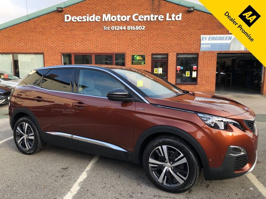 USED 2017 66 PEUGEOT 3008 1.6 BLUEHDI S/S GT LINE 5d 120 BHP Front and rear parking camera and sensors