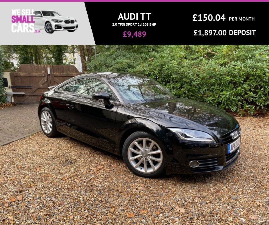 "USED 2013 62 AUDI TT 2.0 TFSI SPORT 2d 208 BHP 2 OWNERS FULL SERVICE 1/2 LTH RARE/SUEDE ALCANTARA  2.0 TFSI COUPE 17""S"