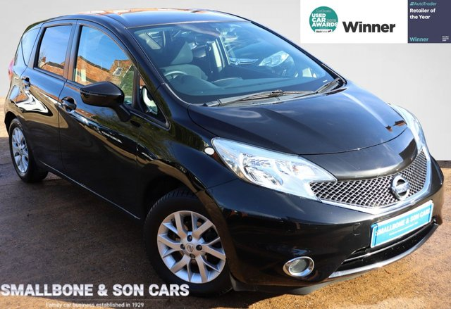 USED 2013 63 NISSAN NOTE 1.2 ACENTA PREMIUM 5d 80 BHP * BUY ONLINE * FREE NATIONWIDE DELIVERY *