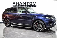 USED 2016 65 LAND ROVER RANGE ROVER SPORT 3.0 SDV6 HSE DYNAMIC 5d 306 BHP