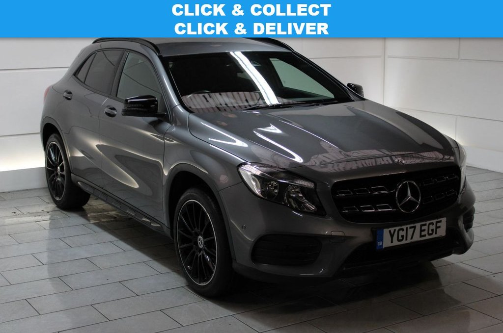USED 2017 17 MERCEDES-BENZ GLA-CLASS 2.1 GLA220d AMG Line (Executive) 7G-DCT 4MATIC (s/s)