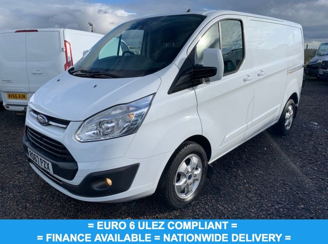 USED 2017 67 FORD TRANSIT CUSTOM 2.0 290 LIMITED LR P/V 129 BHP EURO 6 / FINANCE AVAILABLE / NATIONWIDE DELIVERY